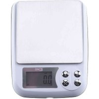 3000g/0.1g Electronic Digital Jewelry Balance Gram LCD Display Cooking Food Kitchen Scale with Clear Plastic Bowl