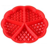 Heart Waffle Mold Silicone Oven Pan Baking Cookie Cake Muffin Cooking Tools
