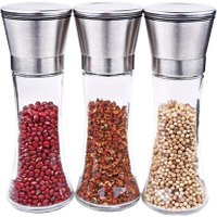 High Quality Manual Pepper Grinder Glass Mills Salt And Pepper Cooking Coffee Spice Grinder Kitchen Tool 190*65*65mm