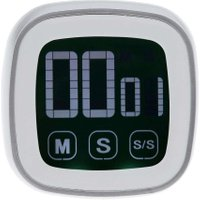 Touch Timer Digital Luminous Alarm Clock Kitchen Cooking Countdown Timer Kitchen Timer Square Cooking Timer Count Up
